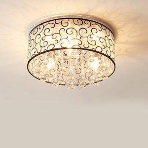 Moderne kristall led kronleuchter luxus dekor decke wohnzimmer schlafzimmer beleuchtung klarglas muster tuch form weiß glanz