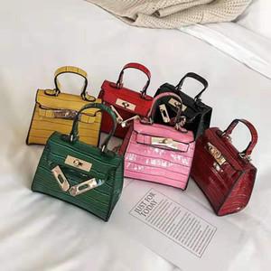 Neue Art und Weise Kinder Jelly Messenger Bag Stilvolle Baby-Schultertasche Kleinkind-Geldbeutel-Mädchen Mini-Süßigkeit-Farben-Handtaschen Kinder