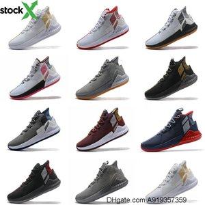 D Gül 9 basketbol Ayakkabı Erkek Adam Brown Derrick Rose 9s Koşucular 2020 Classis Spor Boots Eğitim Sneaker Ayakkabı Satış