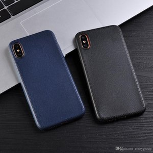 Thin Leather Pattern Texture Phone Cases For iPhone 11 pro xs max xr x 8 7 6 6S Plus case Luxury Soft TPU Comfort Back Cover for iphone8