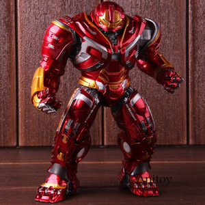 Marvel Avengers Infinity War Mark44 Hulk Buster Action Figure Hulkbuster Pvc Da collezione Model Toy con luce led Q190429