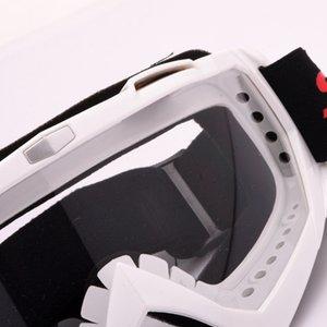 Motociclismo Occhiali Motocross Off-Road Bike ATV Googles Sci Snowboard Occhiali per gli uomini le donne colorata Lens
