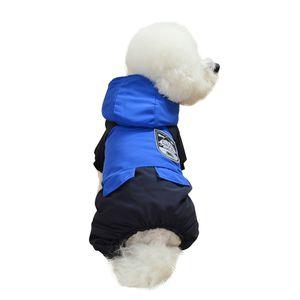 Transer ropa perro polar 2019 Neue Haustier-Hundewelpen-Katze-Stickerei-Winter-warme Pullover Kostüm Mantel-Kleid-hoopet Hundekleidung