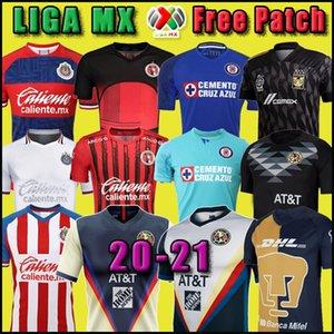 Yeni 2020 Club America Cruz Azul Futbol Jersey 20 21 Guadalajara Chivas Tijuana UNAM Tigres ev uzakta üçüncü GK Liga MX Futbol shirtleri