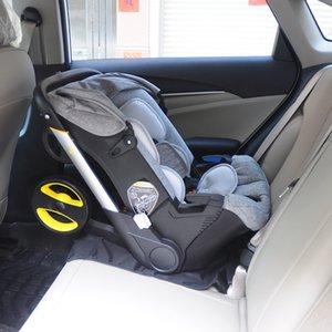 high landscape 4 In 1 Baby Stroller Travel System Folding Shock Absorption Baby Stroller Portable Baby Sleeping Basket