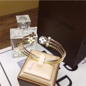 Fashion designer jewelry women bracelets T bracelet Fashion zircon Love bracelet Louìs Vuìttõn Free shipping