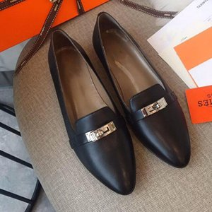 Top ballerines de qualité chaussures chaussures de luxe design en cuir souple véritable Sole POINTES orteil 34-41 modèle YG02