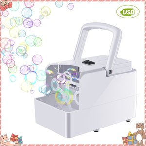 Bubble Machine Automatic Bubble Blower Party Birthday Wedding Bubble Maker Summer Outdoor Toy for Kids Dropshipping CX200606