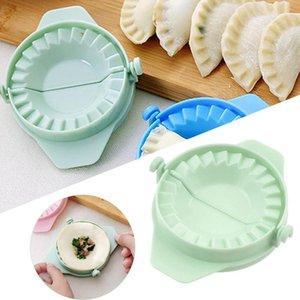 Plastic Dough Imprensa Dumpling Pie Ravioli Mold bolinho de massa moldes de cozedura Pastelaria Chinese Food Jiaozi fabricante de ferramentas