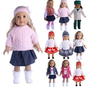 Doll Dress Clothes Outfit Clothes Set For 18'' American Girl Our Generation Doll