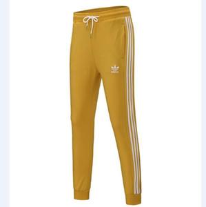 Sport 3 Pantaloni Stripes marca per gli uomini lunghi casuali Donne Pantaloni felpa Autunno Uomini Jogger Pantaloni Donna Pantaloni Etero jogging abbigliamento 6 colori