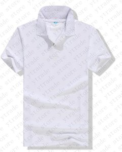 Мужчины Quick Dry футболки Polo Твердая Одежда Gyms футболки мужские Фитнес Плотные белые Открытый футболки топ Blank 0024