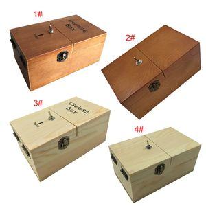 전자 쓸모없는 상자 나무 소년 소녀 아이 재미있는 취미 기계 스트레스 감소 재미 장난감 데스크 장식 선물