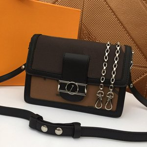 DAUPHINE Designer-Handtaschen hochwertige Echtleder Frauen Art und Weise Totes Schulter diagonale messegner Stadtstreicherin-Handtasche Tasche