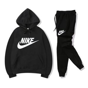 Homens conjunto agasalho Marca Treino das mulheres dos homens hoodies + calças Mens Clothing moleton Casual tênis Fatos Sweat Suits