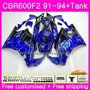 HONDA CBR 600F2 CBR 600 F2 FS 91 92 93 94 76HM.6 için CBR.6 CBR600 F2 CBR600FS CBR600RR CBR600F2 1991 1992 1993 1994 Yeni Mavi alevler kaporta