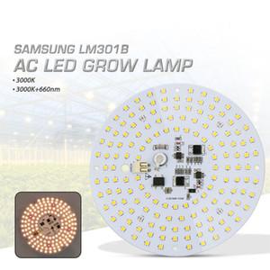 Бесплатная доставка 100 Вт переменного тока водителя Сид растет света квантовой доска полный спектр Samsung LM301B 3000К 660 Нм DIY светодиодные завода светать для овощи/Блум