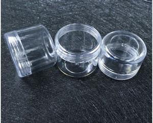 5g 7g 10g 15g 20g trasparente vasi di plastica piccole intor crema vasi contenitore cosmetico plastica