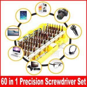 Cacciavite di precisione Torx Set Professionale elettronico Mini cacciavite Bits Computer Phone PC riparazione strumento di apertura 60 in 1 Set