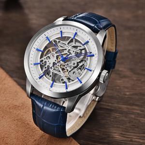 2019 PAGANI DESIGN Brand Fashion Leather Gold Watch Men Automatic Mechanical Skeleton Waterproof Watches Relogio Masculino Box Y200414