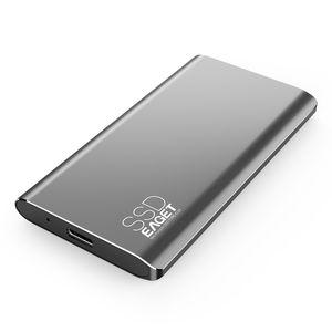 Tip-C 3.1 Harici SSD 1 TB 512 GB 256 GB 128 GB Taşınabilir Katı Dural Sürücü USB 3.0 Sabit Disk Samsung Sony Bilgisayar M1 için