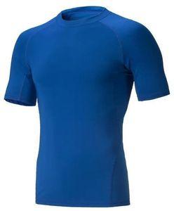 2019 men's tight clothes running short-sleeved quick-drying T-shirt 318