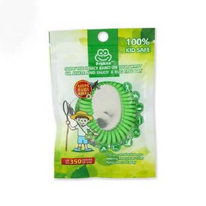 Yeni kaliteli Sivrisinek Kovucu Bant Bilezikler Anti Mosquito Saf Doğal Yetişkinler ve çocuklar Bilek bandı karışık renkler Pest Control DHL