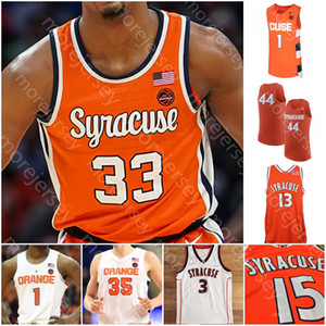 Benutzerdefinierte Syrakuse Orange Basketball Jersey NCAA College Anthony Hughes Boeheheim Girard III Dolezaj Guerrier Sidibe Grant Kellner Bing Williams