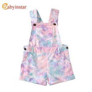 Babyinstar Neue Ankunfts-Baby-Kleidung Art und Weise gedruckte Overall Kleinkinderbekleidung Kinder Kleinkind-Mädchen-Overall