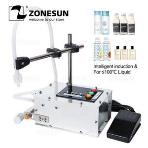 ZONESUN induction intelligente machine de remplissage liquide Petit liquide machine de remplissage résistant à la chaleur de précision élevée