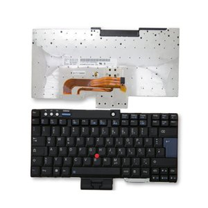 New  Original Laptop keyboard For IBM for Lenovo T60 R60 Z60 Z61 T61 T61P replacement DE Layout