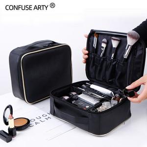 Профессиональный вагонка портативный косметический мешок небольшой портативный простой макияж водонепроницаемый мешок для хранения S200409