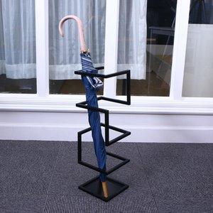 Criativa Umbrella Stand Holder metal guarda-chuva rack organizador para Corredor Entryway Escritório representam no corredor