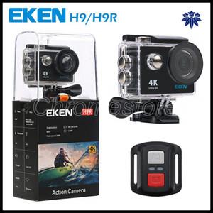 Action-Kamera Original-EKEN H9R mit Fernbedienung HD 4K WiFi HDMI 1080P LCD-170D Pro Sports Kamera wasserdicht mit Kleinkasten