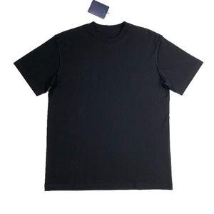 أزياء فرنسا بسيطة الصلبة T قميص كلاسيكي الأعمال عالية الجودة تي شيرت الأزياء الرياضة قصيرة الأكمام الرجال النساء الصيف شارع المحملة HFYMTX558