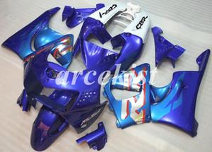 새로운 ABS 오토바이 전체 바람막이 맞춤 혼다 CBR900RR을 키트 919 1998 1999 CBR919RR 98 99 차체 세트 사용자 정의 블루 라이트