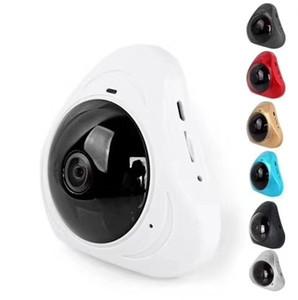 Bırak gemi HD 960P 360 derece Kablosuz IP Kameralar Gece Görüş Wifi Kamera IP Kamera CCTV ev güvenlik kamera bebek monitörü