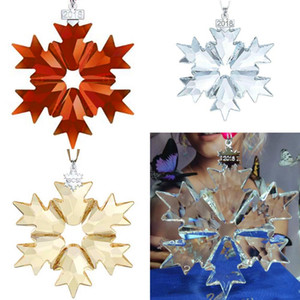 Crystal 2018 Annual Edition Large Christmas Ornament 5427990 884554 Snowflake Ornament