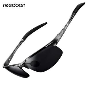 Reedoon óculos polarizados HD Lens Metal Frame Esporte Sun Glasses Marca Designer For Men Mulheres Driving Pesca Outdoor R8177