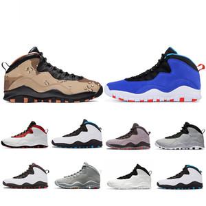 Com Caixa Deserto Camo Funileiro 10 10 s Sapatos de Basquete 2019 Westbrook Sapatos De Cimento De Grife Homens Fresco Fusão Cinza Vermelho Mens Sports Sneakers 41-47