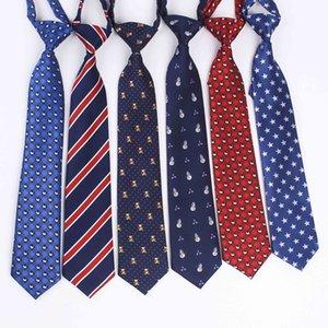 32*6cm Gravata Boys Girls Children's Tie School Class Dance Costume Accessories Band Cartoon Student Tie Necktie Neckcloth Gift