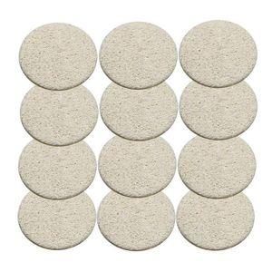 Natural Loofah Pad viso Loofah Disco trucco Rimuovere Esfoliante Viso Loofah rilievo di piccola dimensione