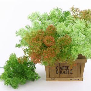 1pc plástico Artificial Moss grama Árvore Planta Home Office Party Decoration Furniture