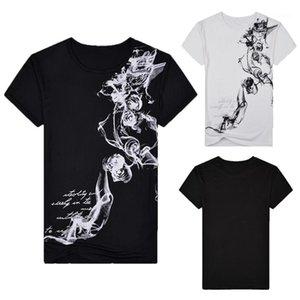 Shirt 2020 Fashion Slim Fit de base Hommes T-shirts d'été manches courtes pour hommes Hauts Camiseta Masculina Ropa Hommes Casual Chinese Style