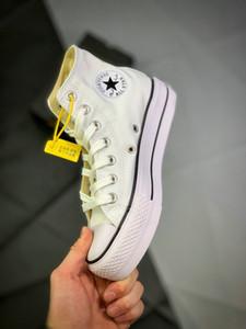 New Chuck 1970 preto Hi Plataforma Running Shoes Taylor década de 1970 Canvas Homens Mulheres Sapatos Moda plimsolls brancos Chaussures Casual