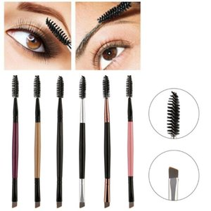 1Pcs Eyelash Eyebrow Brush Double Head Brush Mascara Wand Applicator Spoolers Eye Lashes Makeup Tools pincel maquiagem