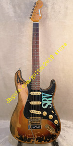 10S Custom Shop Masterbuilt Limited Edition Stevie Ray Vaughan Tribute SRV Number One ST Электрогитара Vintage Brown Закончено