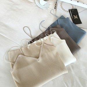 Hot Sale 2016 new Korean version vertical stripes thin Tank Tops women Sleeveless sexy small vest Bra women's vest