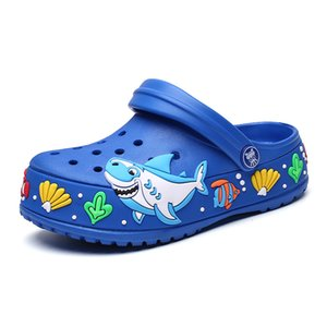 PINSEN 2019 Summer Clogs Kids Shoes Autumn girls boys EVA children shoes cartoon Non-Slip Fashion Garden Shoes Kids slippers T200604