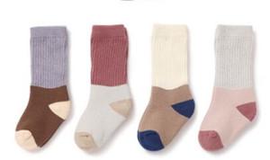 chinakulong pago y envío de otoño e invierno de algodón engrosamiento bebé calcetines